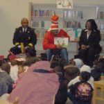 Dr. Seuss read Across America. Charleston, SC