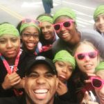 Race For The Cure w/ CSU Women's B-Ball team. Daniel Island, SC 2014
