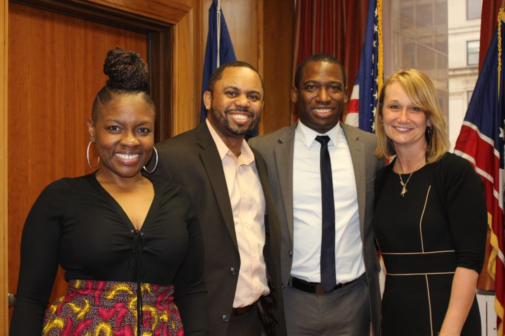 Clovia, Yonni, Mayor Levar Stoney & Marsha